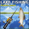 Lake fishing: Alpine pear…