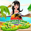 Tropical Salad in Pineapp…