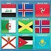 World Flag Memory-8